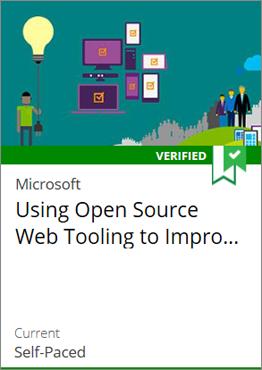 Using Open Source Web Tooling to Improve Development Proficiency